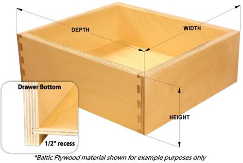 Kv side mounting soft closing drawer guides
